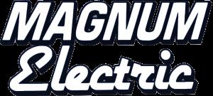 New Magnum Logo-white